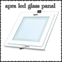 Apra LED Glass Panel 12 Watt Light
