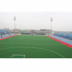 Hockey Field Construction