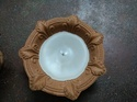 Attractive Diya With Candle