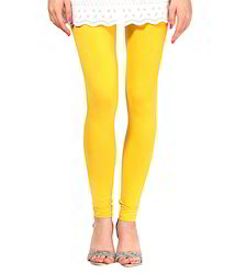 Ladies Yellow Leggings