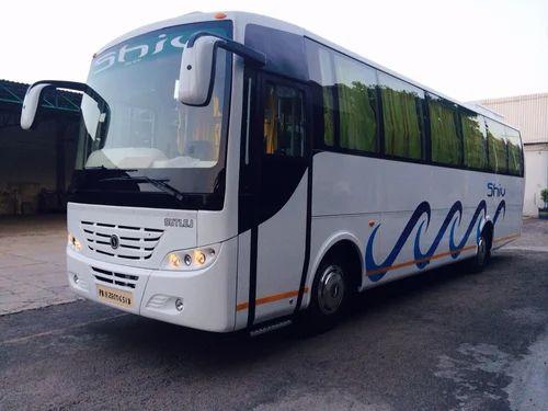 Luxury Tourist Bus Service, Bus Rental - Hindustan Travels ...