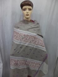 Natural Colour Kashmiri Sozni  Work Shawls
