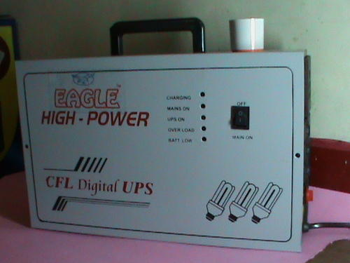 Single Phase Metal Mini 3cfl Ups With Holder For
