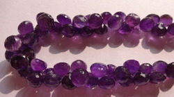 Amethyst African Cut Onion Shape
