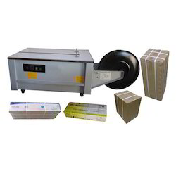 Low Table Semi Automatic Box Strapping Machine