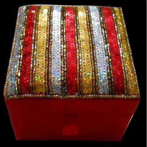 Sequin Jewellry Box
