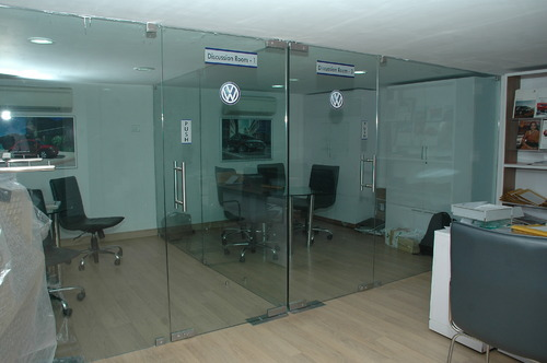 Charmant Transparent Office Glass Door