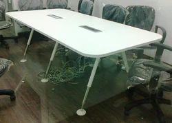 Telescopic Legged Conference Table