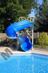Swimming Pool Slides - Round Tube Slide Manufacturer from New Delhi