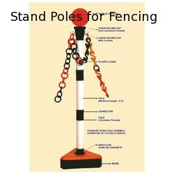 Stand Poles for Fencing