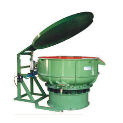 Vibratory Bowl Finishing Machine with Cover