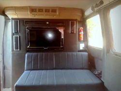 Luxury Caravan Interior on TATA Winger