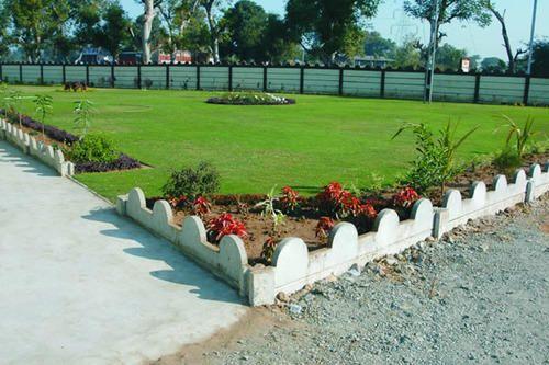 Garden Compound Wall Fasci Garden
