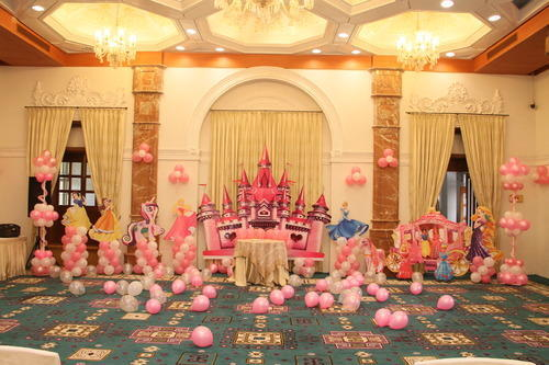 Princess Themed Birthday Party in Vadodara Karelibaug by RA Event