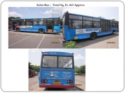Outdoor Pune Bus Panel Advertisements, in Cities Of Maharashtra