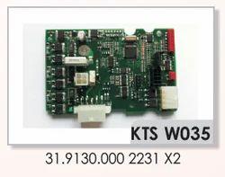 IRO 2231 X2 Weft Feeders PCB 31.9130.000
