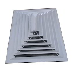 Louvered Ceiling Diffuser