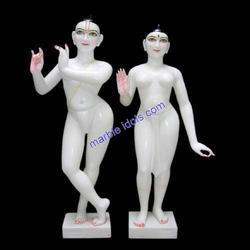 Marble Iskcon Statue