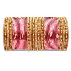 Golden Silver Metal Bangles Sets
