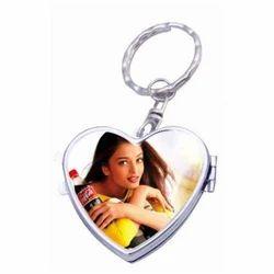 Heart Mirror Keychains