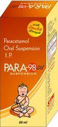 Paracetamol Oral Suspension 250 Mg