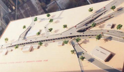 architectural engineering models. Flyover Model Architectural Engineering Models I