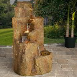 R803 FRP Beige Coloured Fountain