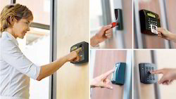 Optical Sensor Biometric Access Control Systems, Products Included: Machine