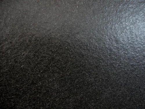 leathered black granite