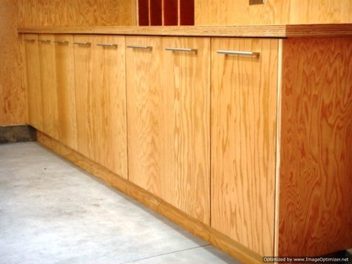 Plywood kitchen cabinets crowdbuild for for Plywood cupboard
