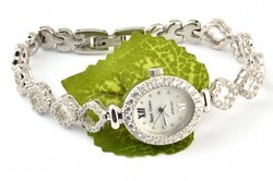 Silver Bling Ladies Watch