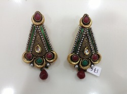 Vibrant Color Earrings