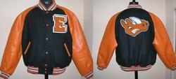 Letterman Jacket with Custom Chenille Patches