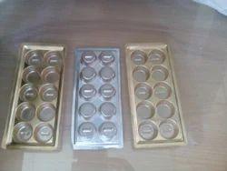 PET 10 Cavity Chocolate Packaging Tray