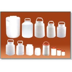 Plastic Round Jars