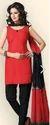 Black And Red Kurti