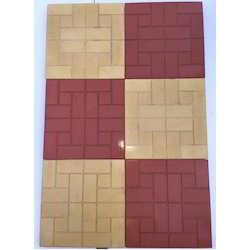 Glossy Chequered Tiles