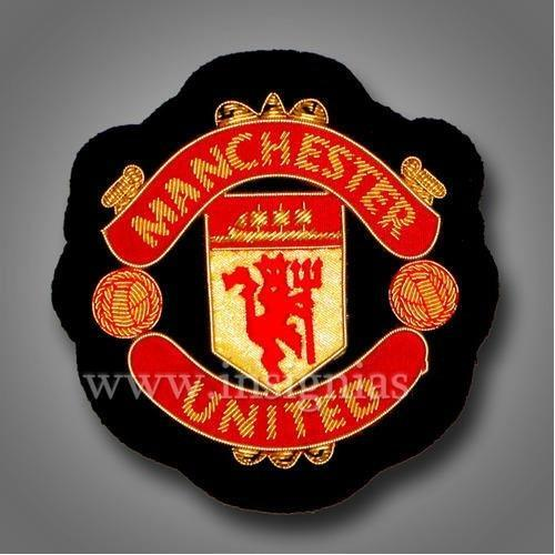 Manchester United Embroidered Badge Embroidered Badges Embroidery Patch Embroidered Printed Patches कढ ईद र प च एम ब र यडर ड प च स International Insignias Varanasi Id 4593873433