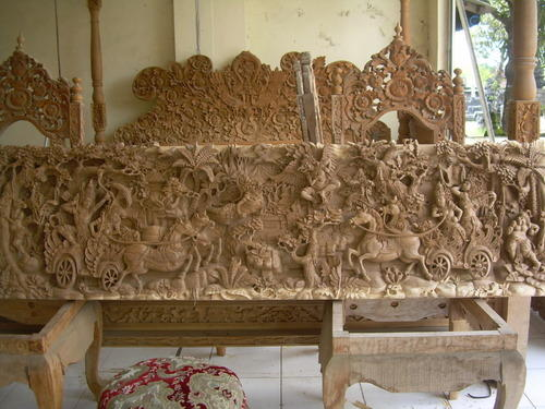 Wood Carving Wood Panel Carving Manufacturer From Mumbai