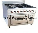 6 Burner Cooking Gas Range