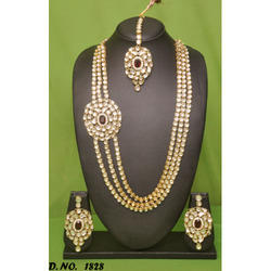 Gold Plated Wedding Necklace Set