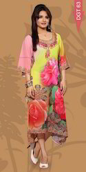 Stylish Digital Printed Kurtis