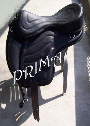 Leather Treeless Saddle English Saddle - Prima International, Kanpur
