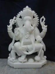 Makrana Marble Ganesh Idol