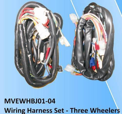 tvs king 3 wheeler wiring harness spare parts 500x500 bajaj three wheeler wiring harness power automotive, new delhi bajaj 2 stroke three wheeler wiring diagram at creativeand.co