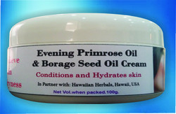 Evening Primose Oil And Borage Seed Oil  Cream