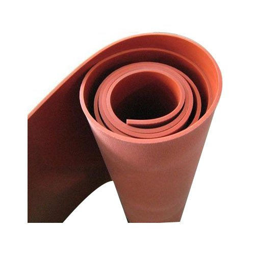 Silicone Conveyor Belt Red Silicone Rubber Sheet