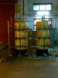 Auto FRP Two Bed DM Water Plants