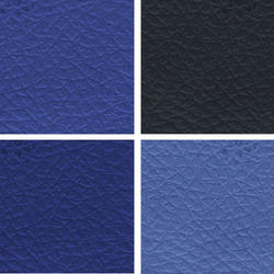 Blue Colored Leather Cloth