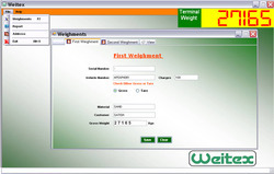 Weighbridge software-how to capture 1st and 2nd weight youtube.